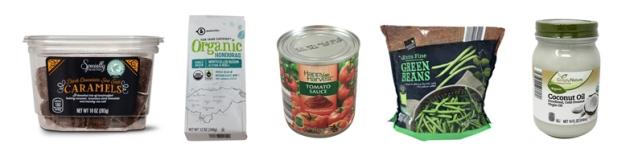 aldi grocery items