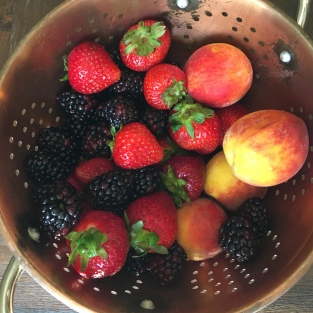 fruit from farmer's market